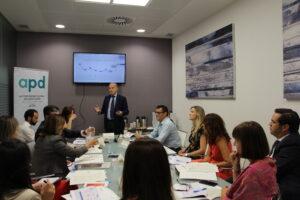 Presentación de principales datos de la mano de Manuel López, CEO de inmark