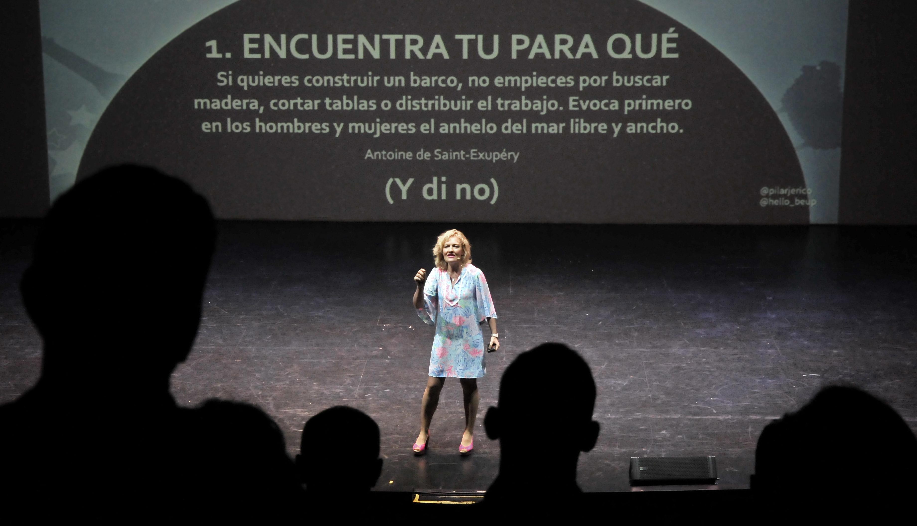 Pilar Jerico - ¿Quién dijo miedo? Los 10 pasos para liderar el cambio (sin sustos) del III Afterwork APD Sevilla