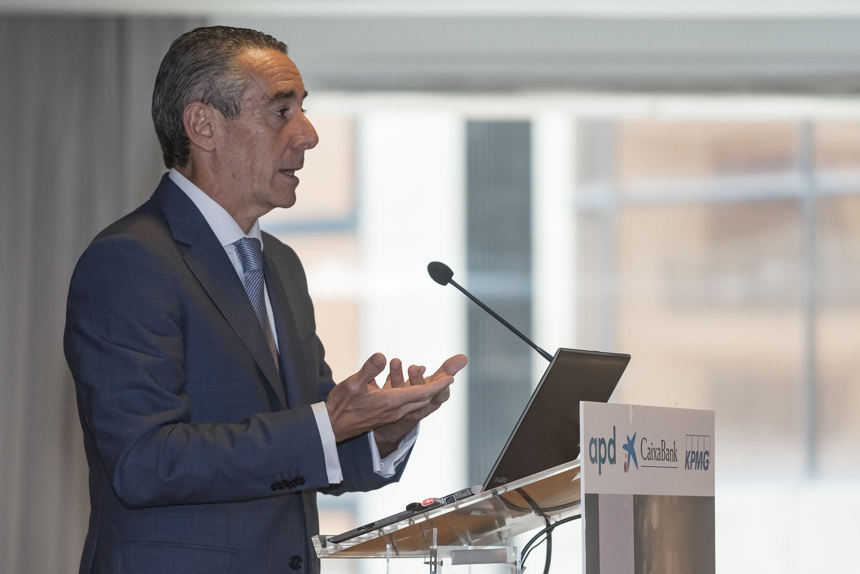 Juan Antonio Alcaraz , director general de CaixaBank